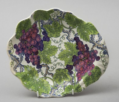 English Spode Pearlware Dish, Circa 1815