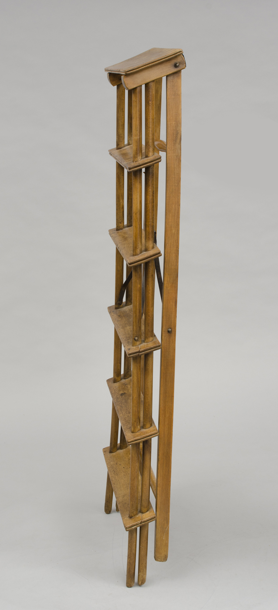 Antique French Step Ladders French Fruitwood Step Ladder
