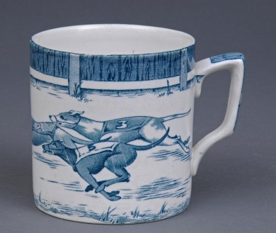 Staffordshire Greyhound Mug