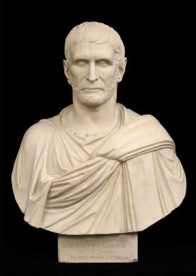 Plaster Bust of Brutus