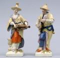 Pair Berlin KPM Porcelain Figurines, Circa 1830