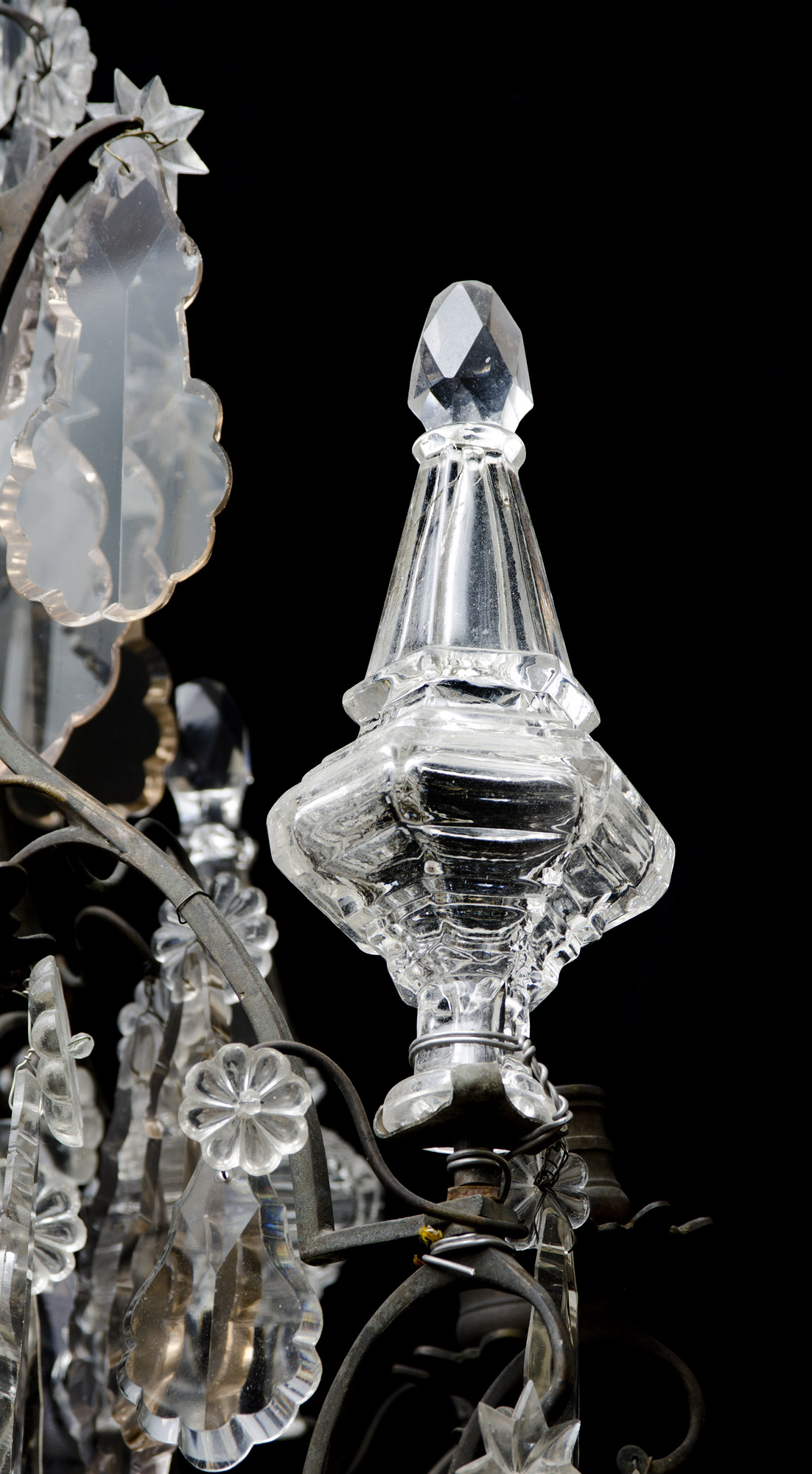 French chandelier simple new french empire crystal chandelier with beautiful antique french crystal and bronze chandelier with french chandelier arubaitofo Gallery