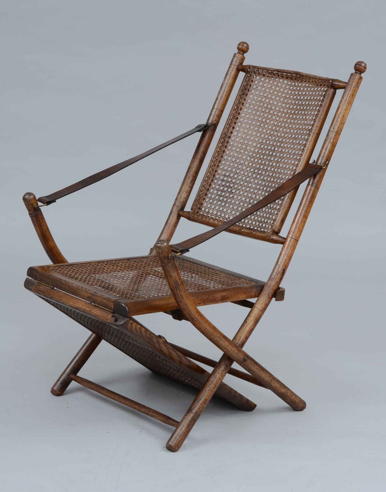 ... 1920's Antique Oak Caned Deck Chair, ... - Antique Deck Chairs Folding Oak Caned Antique Deck Chair