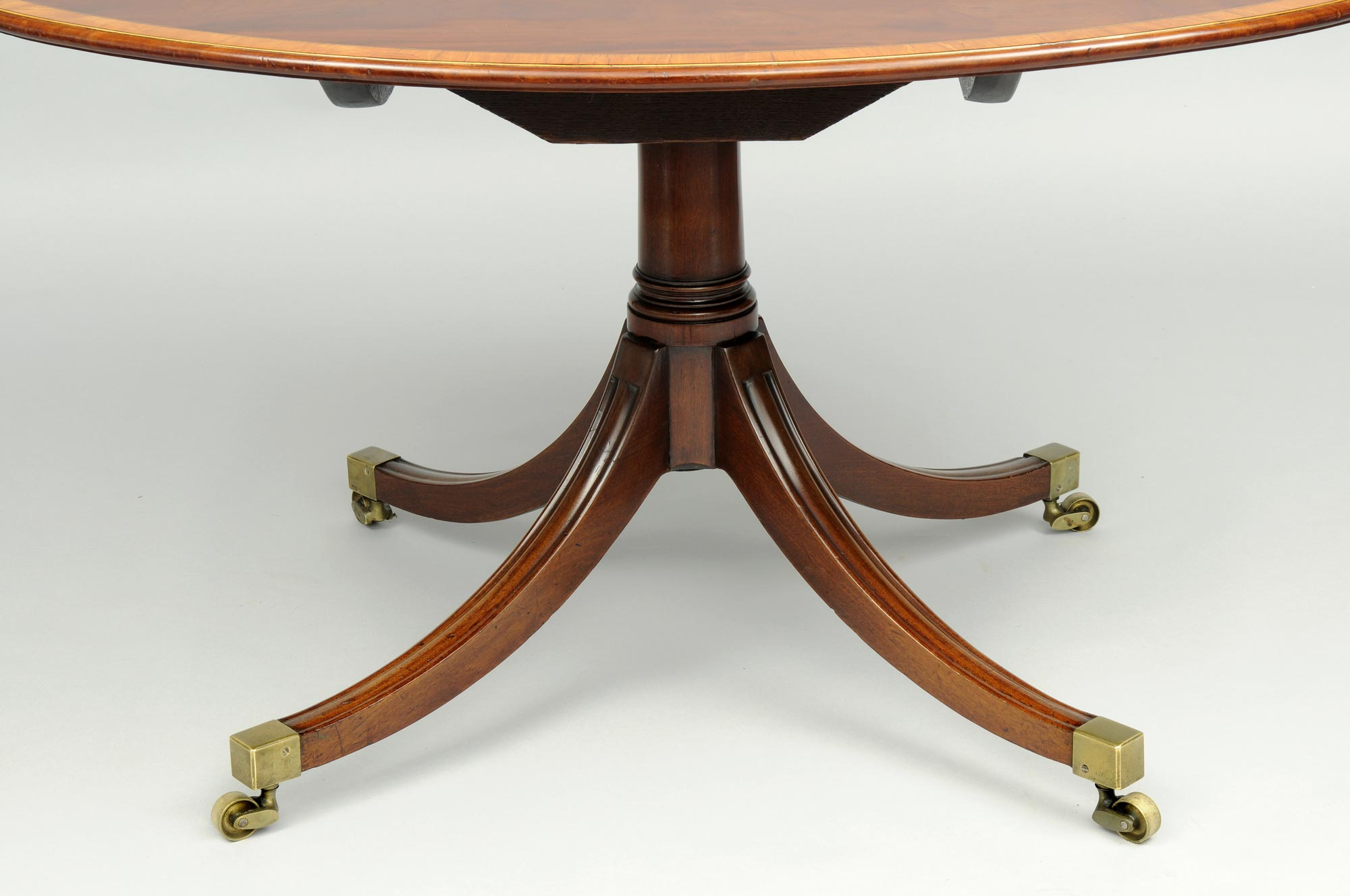 Antique Oval Center Tables Sheraton Period Oval Center Table
