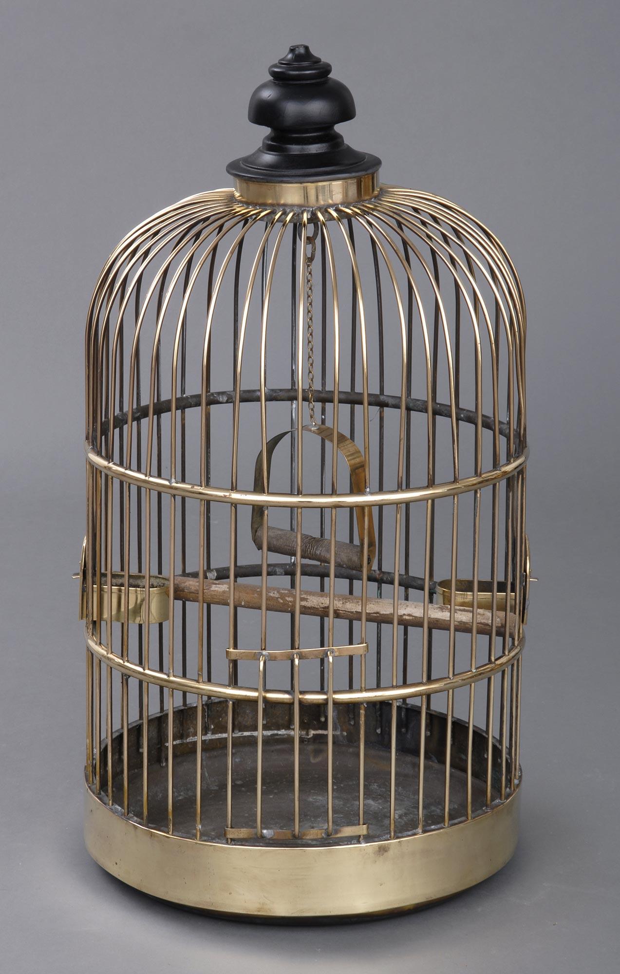 187 Product 187 Brass Bird Cage