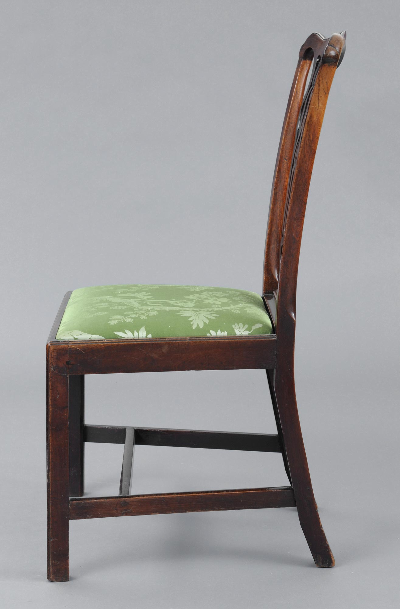 English Chippendale Antique Side Chair Antique Mahogany