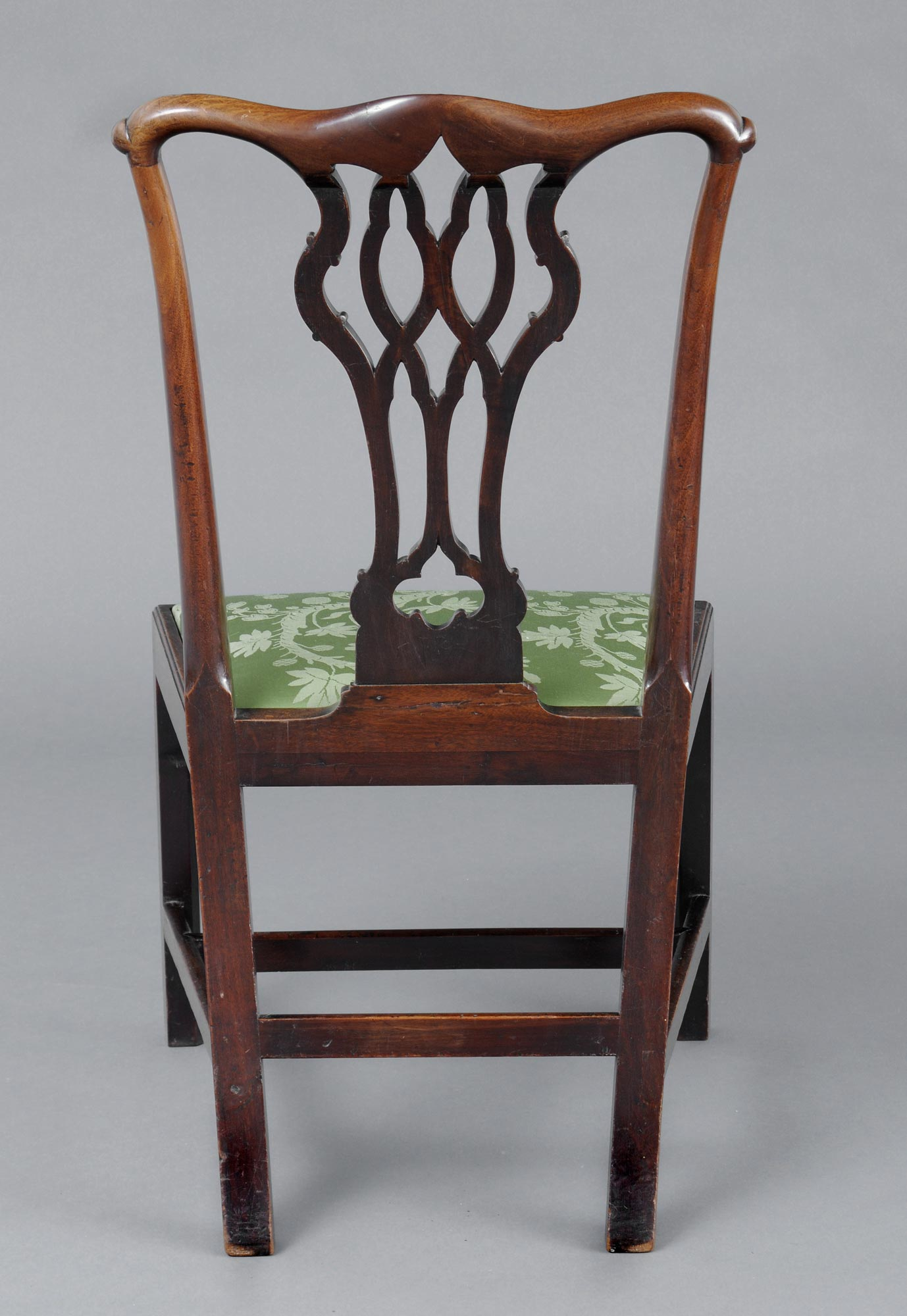 ... English Antique Chippendale Side Chair - English Chippendale Antique Side Chair Antique Mahogany Side Chairs