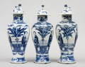 Set of Three Chinese Vases