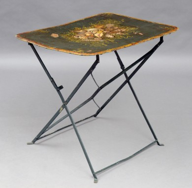 French Antique Cafe Folding Table