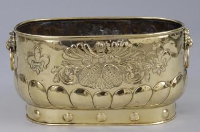 Victoriam Brass Jardiniere