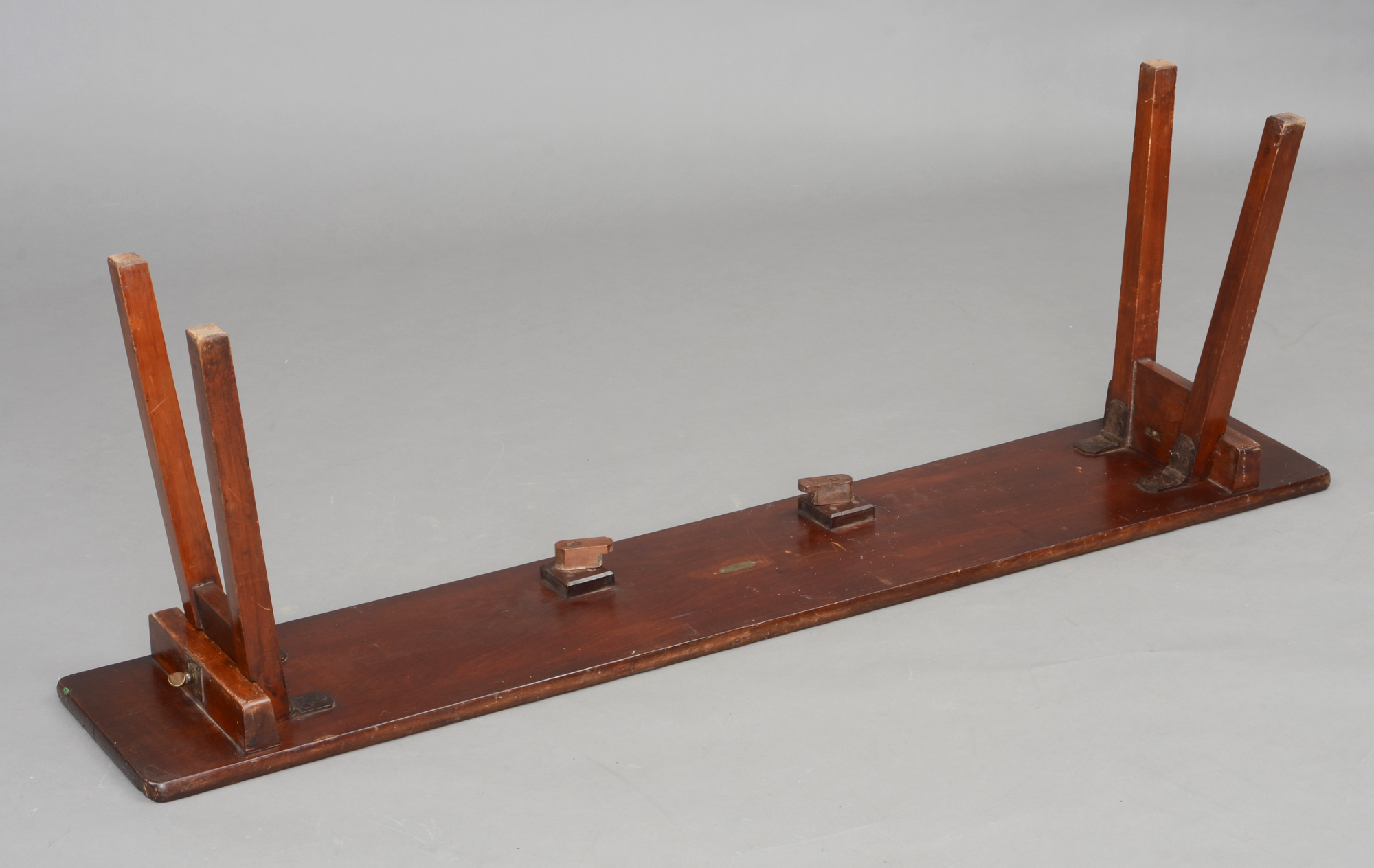 Antique Folding Bench Anglo Indian Antique Folding Army Navy Bench