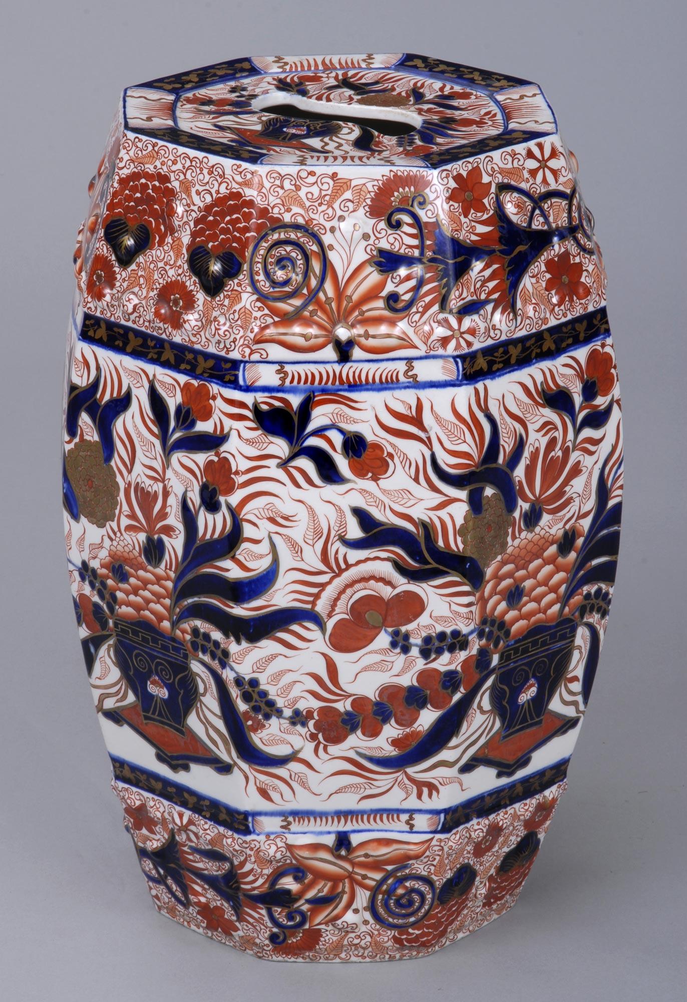 187 Product 187 Stone China Imari Garden Seat