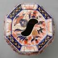 English Stone China Imari Garden Seat
