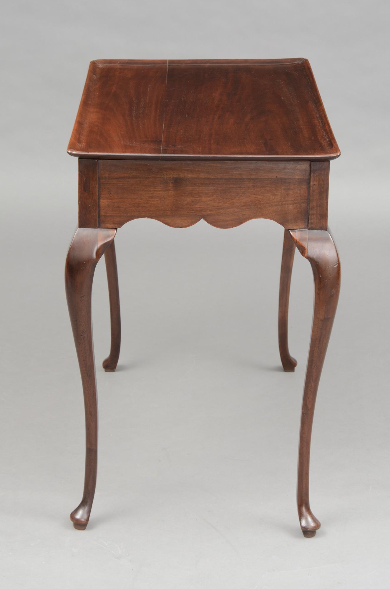 Antique Tea Tables Antique Dutch Period Tray Top Silver
