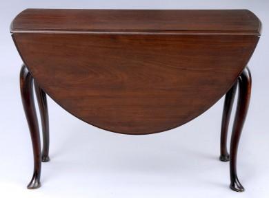 English Antique George II  Drop Leaf Table