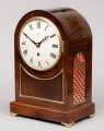 English Antique 8-Day Bracket Clock, Circa 1890