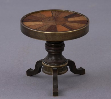 Miniature Pedestal Table