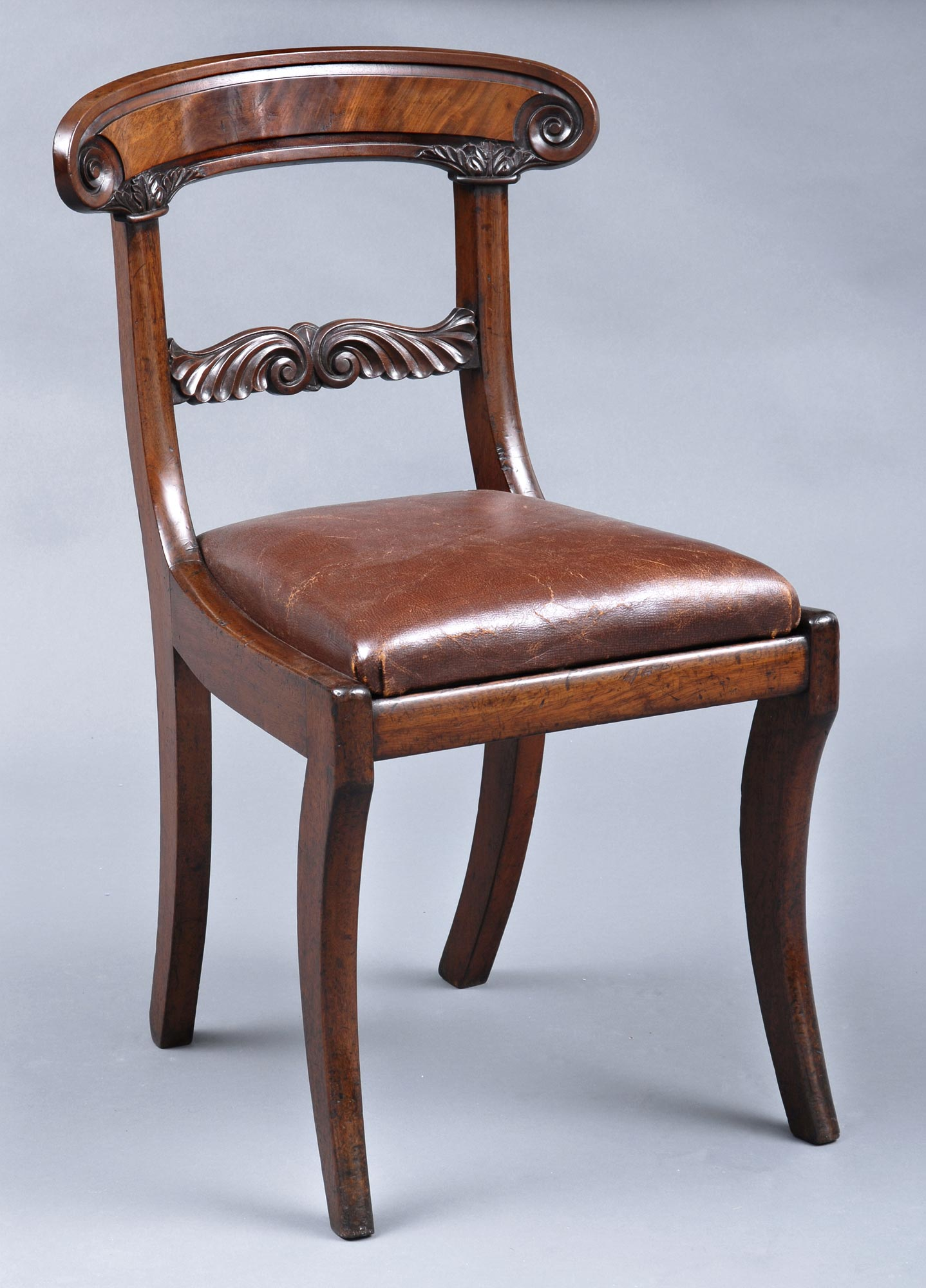 William IV English Antique Side Chair · William IV English Antique Side  Chair ... - William IV English Antique Mahogany Side Chair Antique Chairs