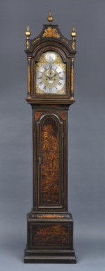 Georgian Japanned Longcase Clock