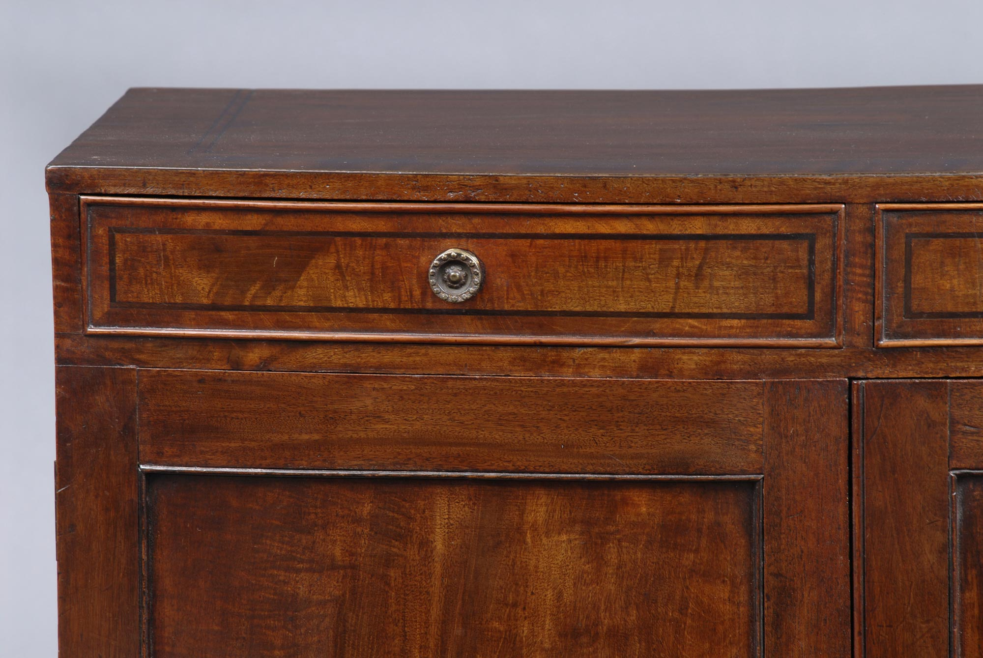 187 Product 187 Georgian Bow Fronted Side Cabinet