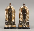 Pair French Empire Head Bookends