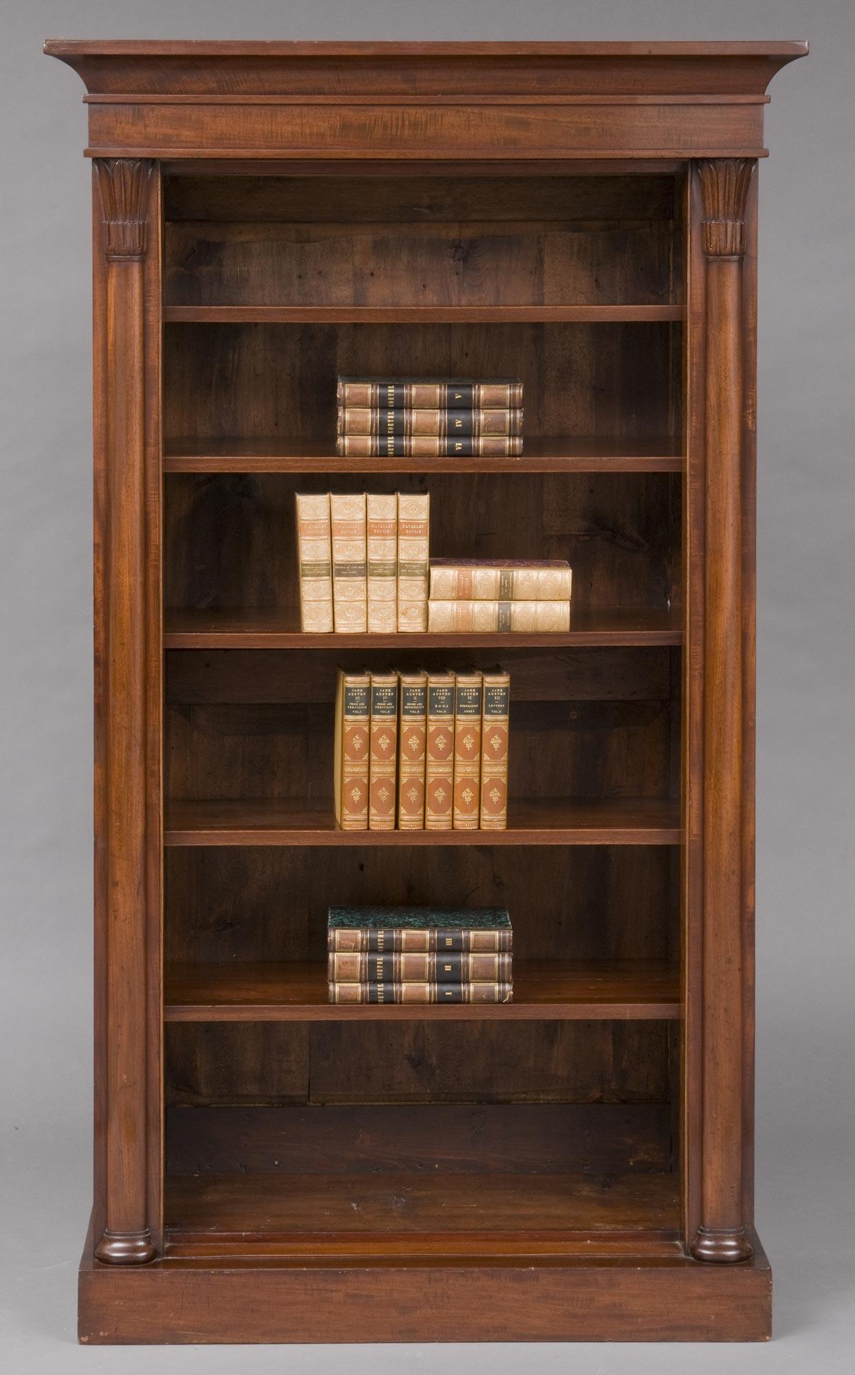 Product William Iv Open Bookcase