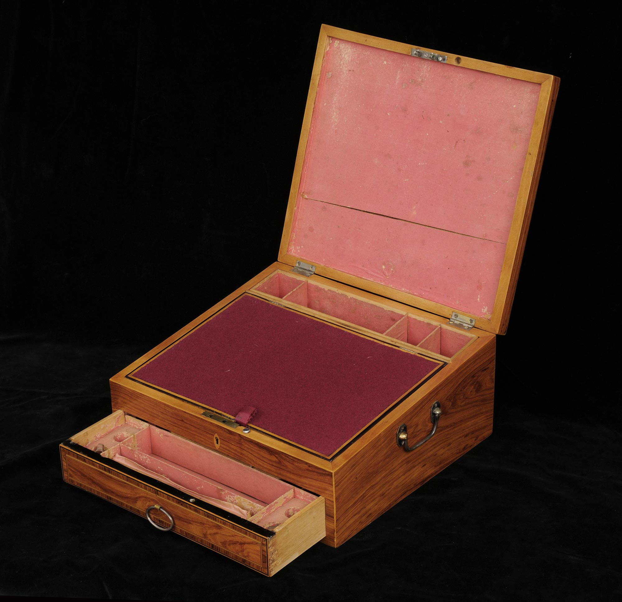 Antique Regency Ladies Toilet Box Circa 1820
