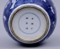 Chinese Blue & White Ovoid Jar