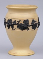 Wedgwood Caneware Vase, Circa 1830