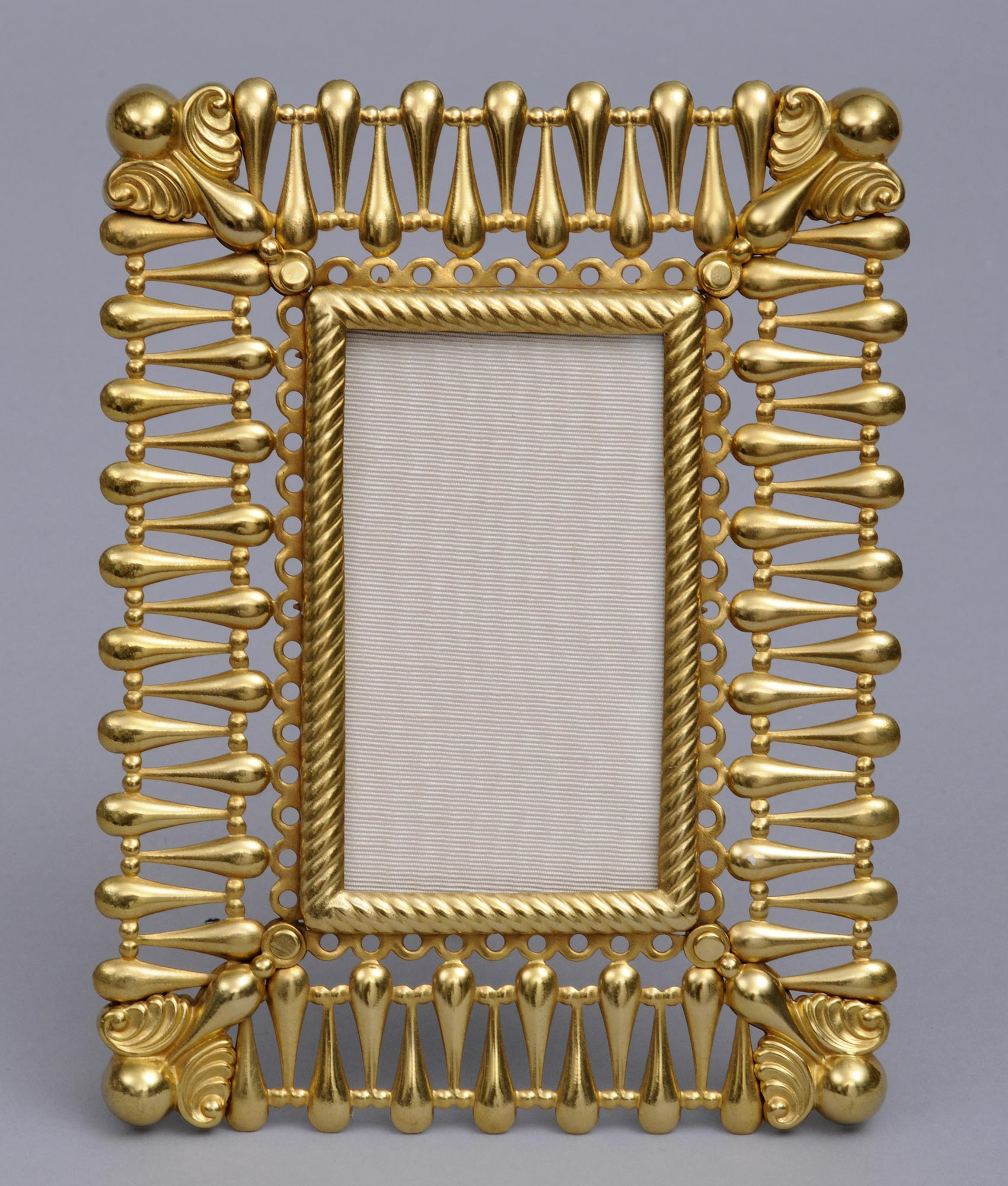 french gilded photo frame