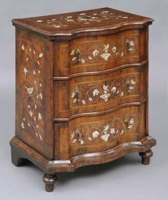 Italian Antique Walnut Commode