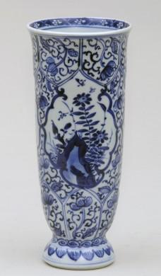 Chinese Kang Xsi  Beaker Vase