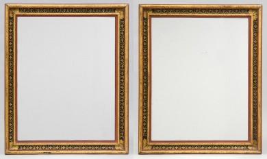 Pair Italian Painted Mirrors