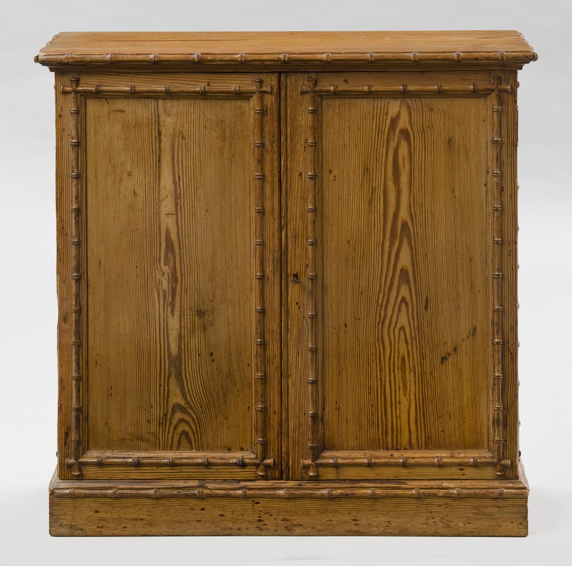 Charmant Pine English Antique Faux Bamboo Cabinet · Pine English Antique Faux Bamboo  Cabinet ...