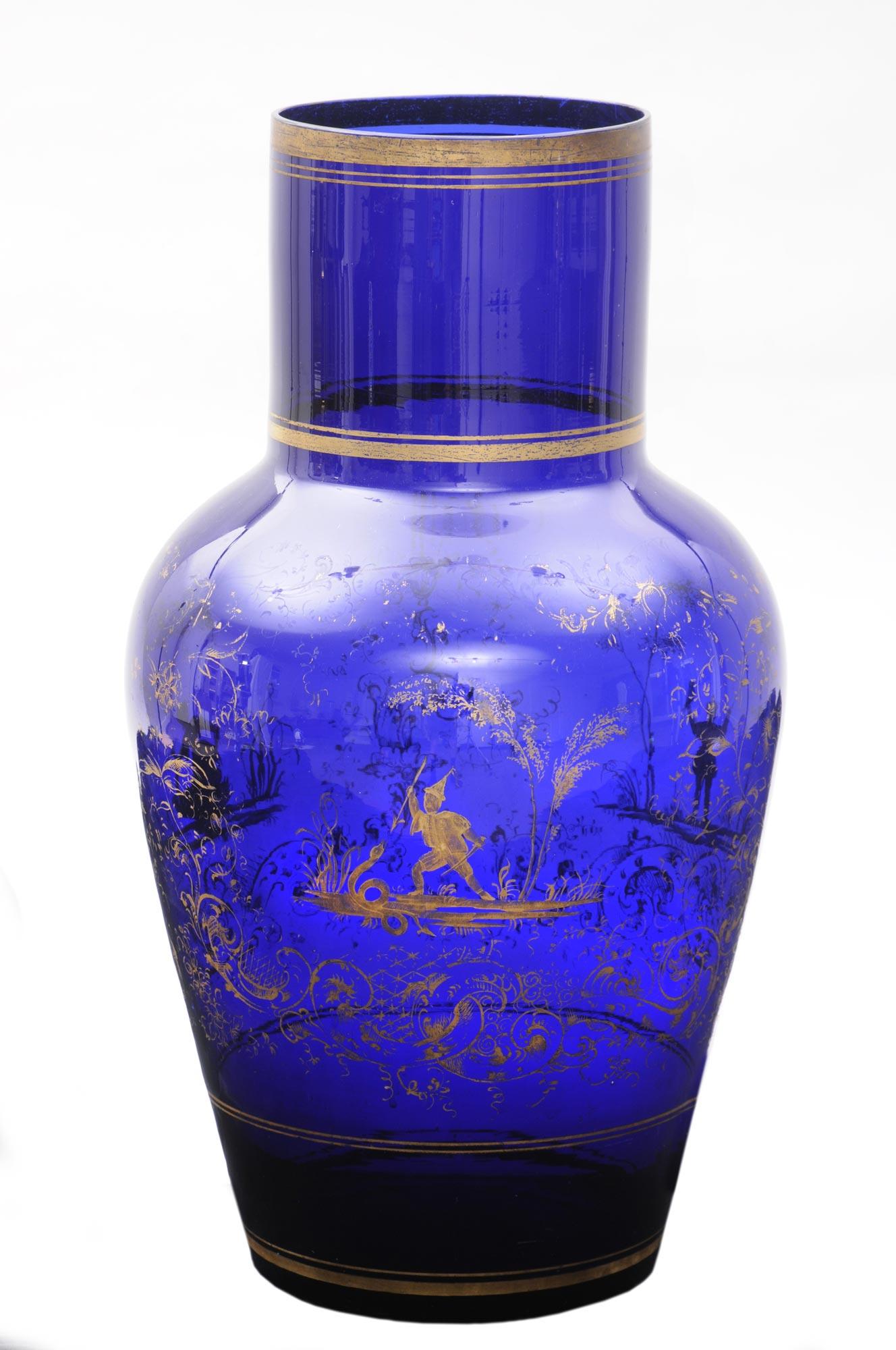 187 Product 187 Larage Cobalt Blue Vase