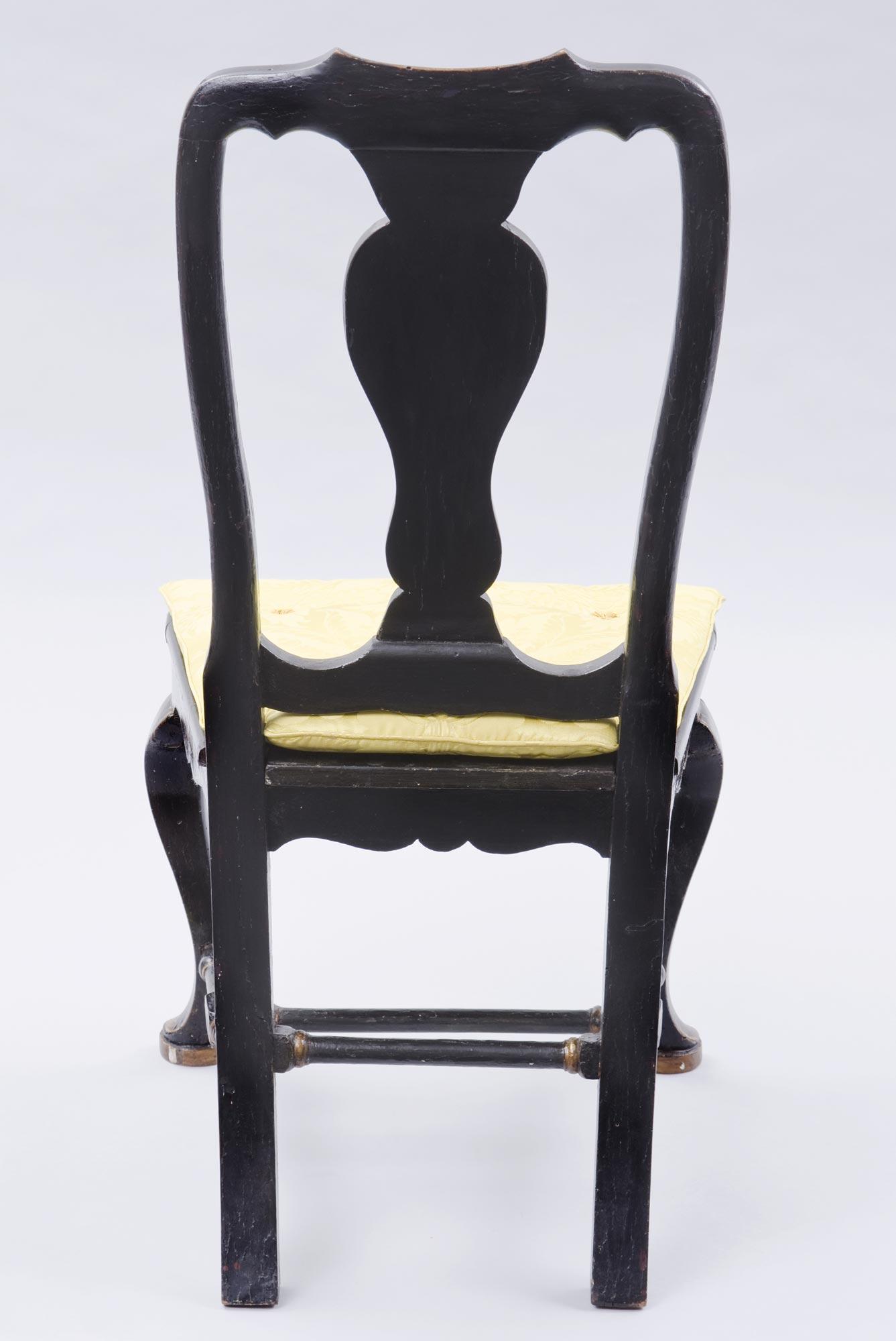 ... Venetian Antique Chinoiserie Side Chair ...