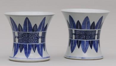 Pair Chinese Guang Xu Vases