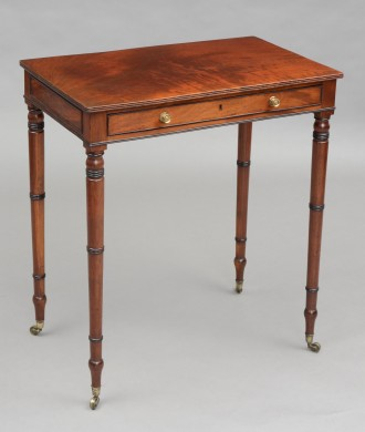 Antique English Regency Side Table