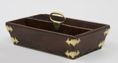 Antique Mahogany Cutlery Box