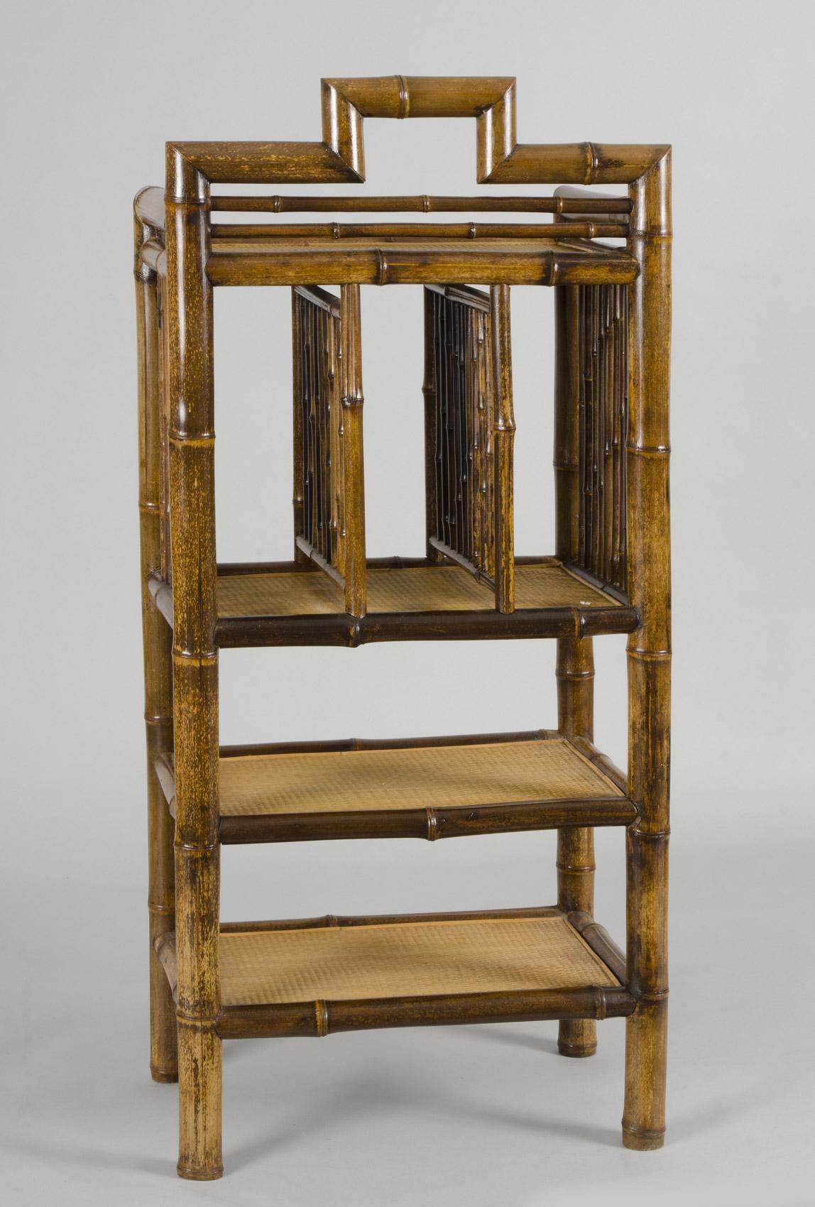 Bookcase Antique Bamboo