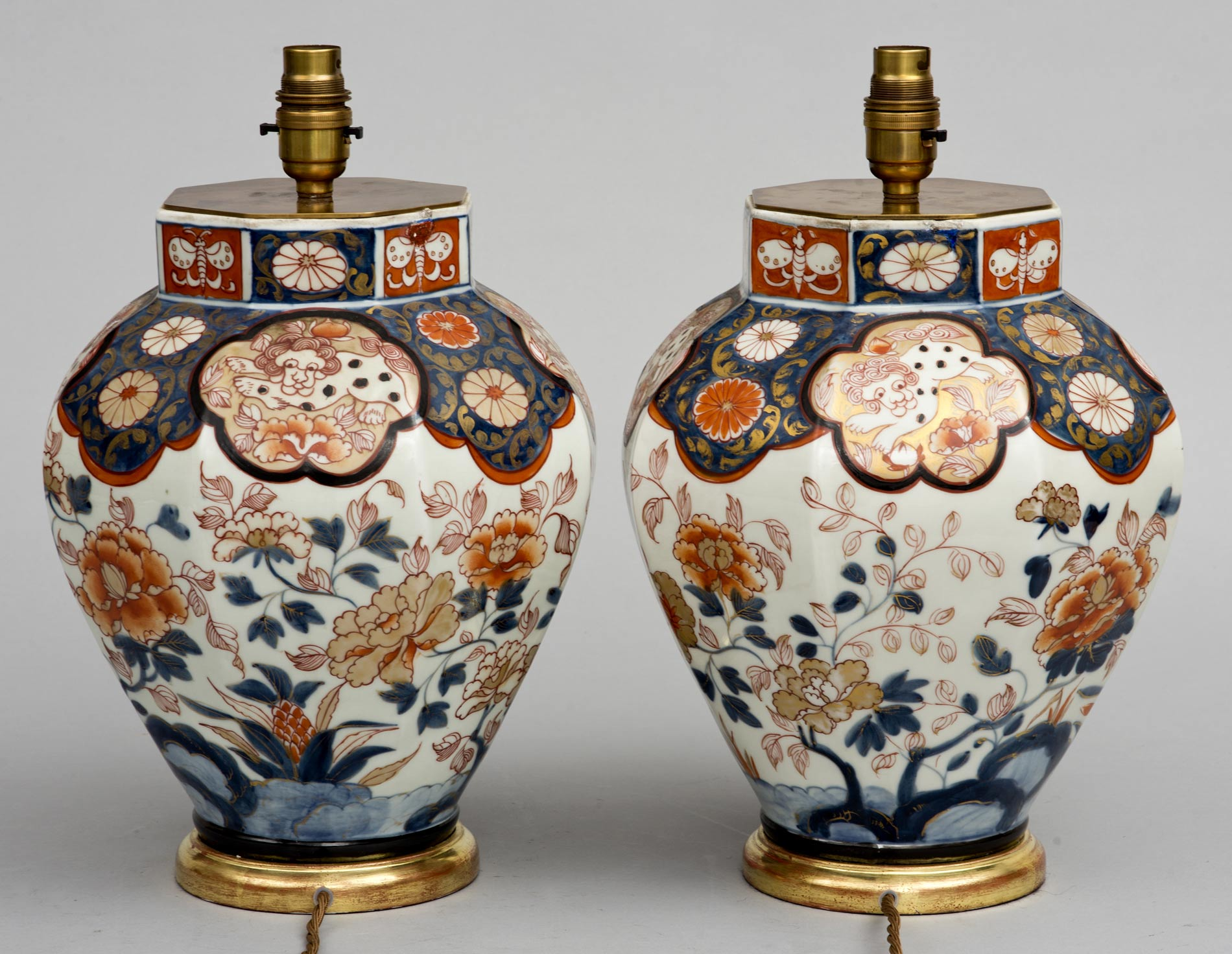 Antique pair imari vase lamps circa 1840 reviewsmspy