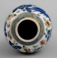 Chinese Qianlong Clobbered Vase, Circa 1700