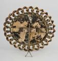 Round Brass Ring Frame, Circa 1880