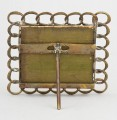 Small Square Brass Ring Frame