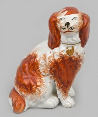 Small Staffordshire Dog, Circa 1850