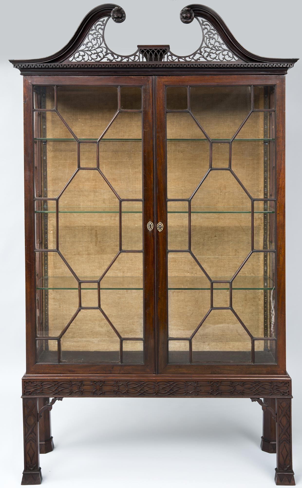 187 Product 187 George Iii Mahogany Glazed Display Cabinet