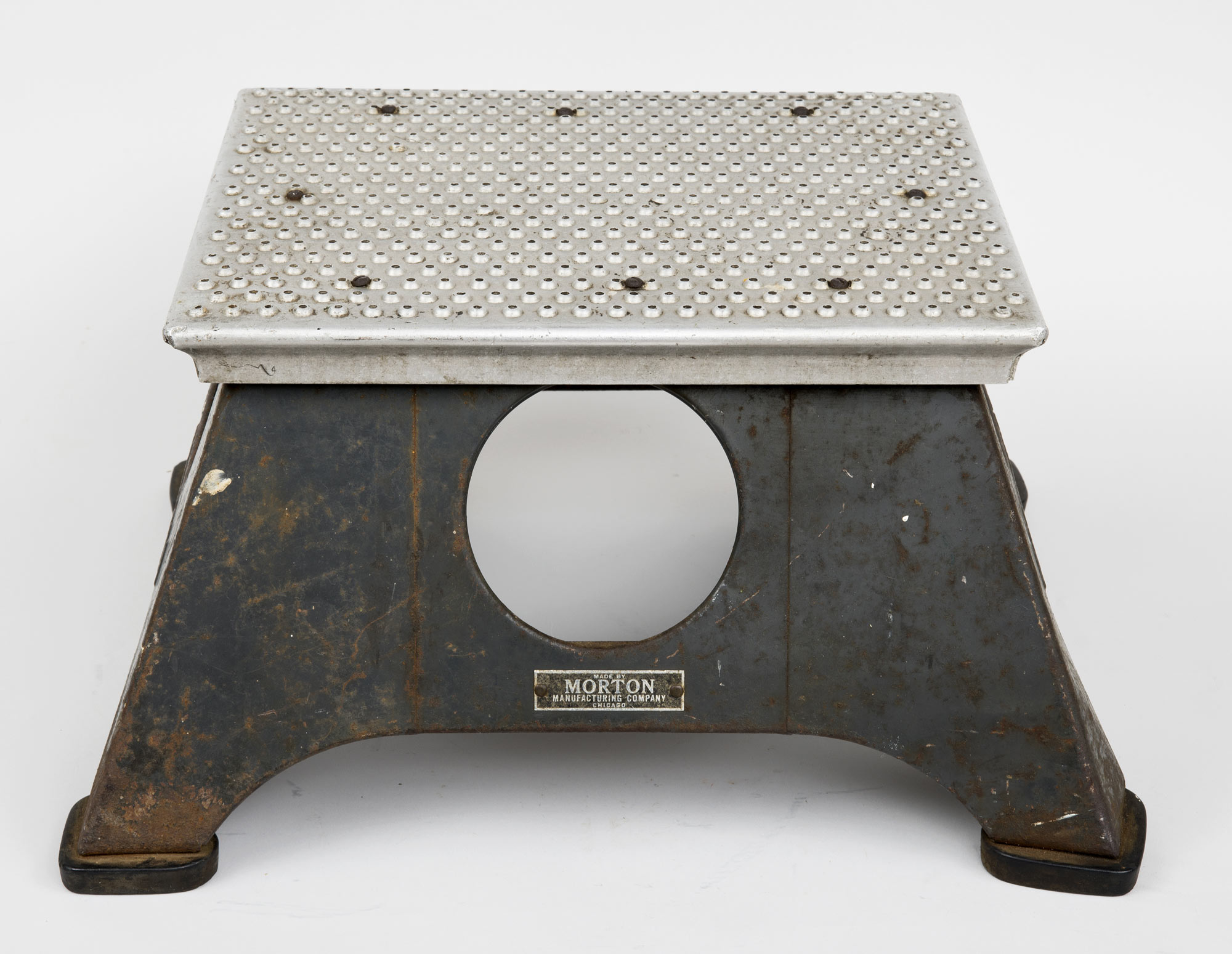... New York Central Train Step Stool ... & New York Central Train Antique Step Stool | 1940u0027s Steel Step Stool islam-shia.org