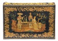 Late Regency Chinoiserie Penwork Box, Circa 1830