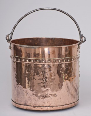 Copper Bucket, Circa 1870