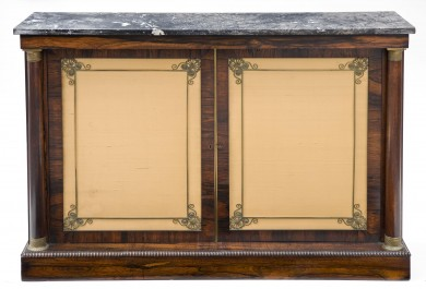 Regency Period Rosewood Side Cabinet, Circa 1810